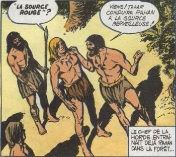 Rahan épisode La Harde folle Planche 1
