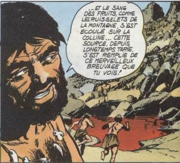 Rahan épisode La Harde folle Planche 4