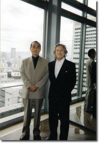 andré ingresavec son galeriste japonais