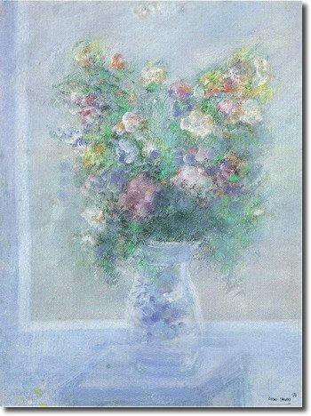 Vase sur tablette