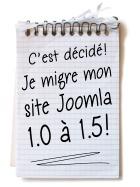 migration Joomla! 1.0 > 1.5