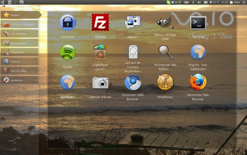 Titou Sony Vaio Ubuntu Desktop
