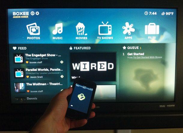 Boxee TV iPhone